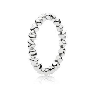 Authentic Pandora Love Stackable Heart RingNWT